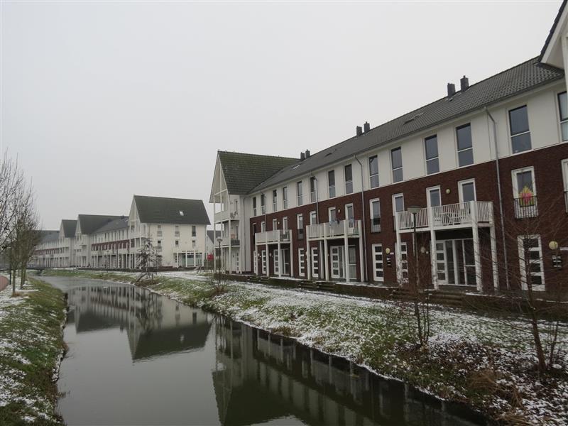 Lingepolder, Houten